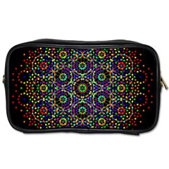 The Flower Of Life Toiletries Bags 2 Side