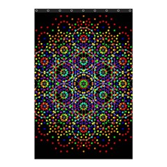 The Flower Of Life Shower Curtain 48  X 72  (small)