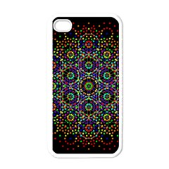 The Flower Of Life Apple Iphone 4 Case (white)