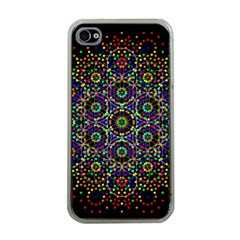 The Flower Of Life Apple Iphone 4 Case (clear)