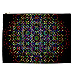 The Flower Of Life Cosmetic Bag (xxl)
