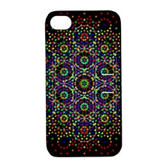 The Flower Of Life Apple Iphone 4/4s Hardshell Case With Stand