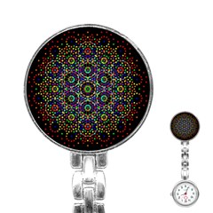 The Flower Of Life Stainless Steel Nurses Watch