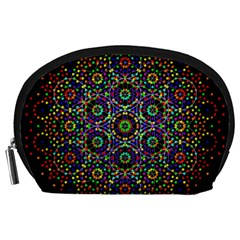 The Flower Of Life Accessory Pouches (large)