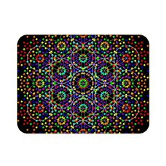 The Flower Of Life Double Sided Flano Blanket (mini)