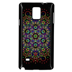 The Flower Of Life Samsung Galaxy Note 4 Case (black)