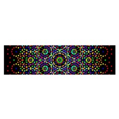The Flower Of Life Satin Scarf (oblong)