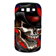 Confederate Flag Usa America United States Csa Civil War Rebel Dixie Military Poster Skull Samsung Galaxy S Iii Classic Hardshell Case (pc+silicone)