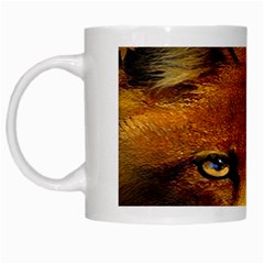Fox White Mugs