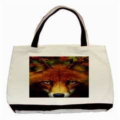 Fox Basic Tote Bag (two Sides)