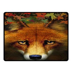 Fox Double Sided Fleece Blanket (small)