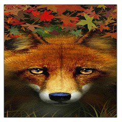 Fox Large Satin Scarf (square)