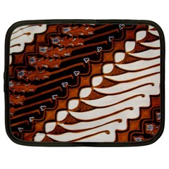 Traditional Batik Sarong Netbook Case (xxl)