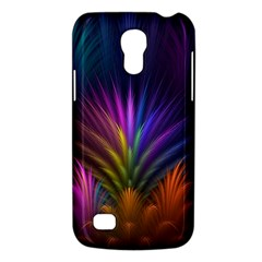 Colored Rays Symmetry Feather Art Galaxy S4 Mini