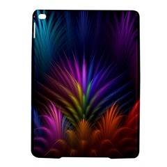 Colored Rays Symmetry Feather Art Ipad Air 2 Hardshell Cases