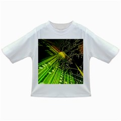 Electronics Machine Technology Circuit Electronic Computer Technics Detail Psychedelic Abstract Patt Infant/toddler T Shirts