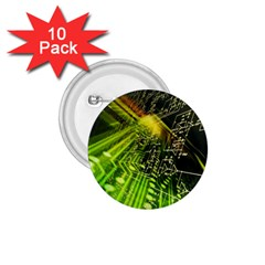 Electronics Machine Technology Circuit Electronic Computer Technics Detail Psychedelic Abstract Patt 1 75  Buttons (10 Pack)