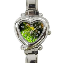 Electronics Machine Technology Circuit Electronic Computer Technics Detail Psychedelic Abstract Patt Heart Italian Charm Watch