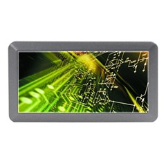 Electronics Machine Technology Circuit Electronic Computer Technics Detail Psychedelic Abstract Patt Memory Card Reader (mini)