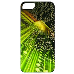 Electronics Machine Technology Circuit Electronic Computer Technics Detail Psychedelic Abstract Patt Apple Iphone 5 Classic Hardshell Case