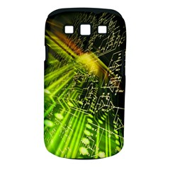 Electronics Machine Technology Circuit Electronic Computer Technics Detail Psychedelic Abstract Patt Samsung Galaxy S Iii Classic Hardshell Case (pc+silicone)