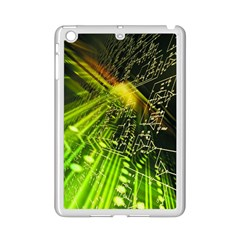 Electronics Machine Technology Circuit Electronic Computer Technics Detail Psychedelic Abstract Patt Ipad Mini 2 Enamel Coated Cases