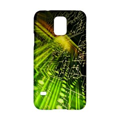 Electronics Machine Technology Circuit Electronic Computer Technics Detail Psychedelic Abstract Patt Samsung Galaxy S5 Hardshell Case