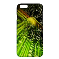 Electronics Machine Technology Circuit Electronic Computer Technics Detail Psychedelic Abstract Patt Apple Iphone 6 Plus/6s Plus Hardshell Case