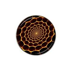 Honeycomb Art Hat Clip Ball Marker (10 Pack)