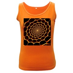 Honeycomb Art Women s Dark Tank Top