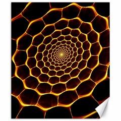 Honeycomb Art Canvas 20  X 24