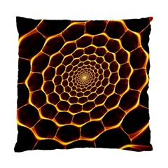 Honeycomb Art Standard Cushion Case (two Sides)