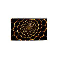 Honeycomb Art Cosmetic Bag (small)