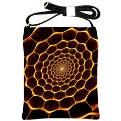 Honeycomb Art Shoulder Sling Bags