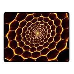 Honeycomb Art Fleece Blanket (small)