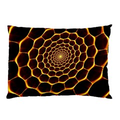 Honeycomb Art Pillow Case (two Sides)