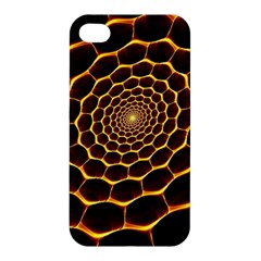 Honeycomb Art Apple Iphone 4/4s Premium Hardshell Case