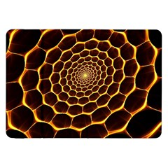 Honeycomb Art Samsung Galaxy Tab 8 9  P7300 Flip Case