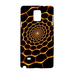 Honeycomb Art Samsung Galaxy Note 4 Hardshell Case