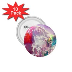 Clouds Multicolor Fantasy Art Skies 1 75  Buttons (10 Pack)