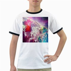 Clouds Multicolor Fantasy Art Skies Ringer T Shirts