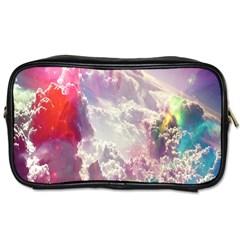 Clouds Multicolor Fantasy Art Skies Toiletries Bags 2 Side