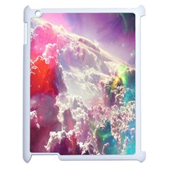 Clouds Multicolor Fantasy Art Skies Apple Ipad 2 Case (white)