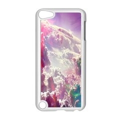 Clouds Multicolor Fantasy Art Skies Apple Ipod Touch 5 Case (white)