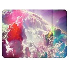 Clouds Multicolor Fantasy Art Skies Samsung Galaxy Tab 7  P1000 Flip Case
