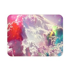 Clouds Multicolor Fantasy Art Skies Double Sided Flano Blanket (mini)