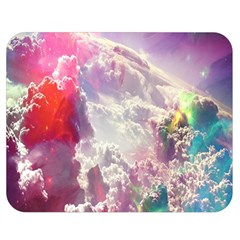 Clouds Multicolor Fantasy Art Skies Double Sided Flano Blanket (medium)