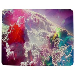 Clouds Multicolor Fantasy Art Skies Jigsaw Puzzle Photo Stand (rectangular)