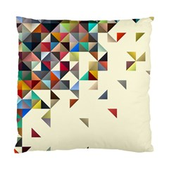 Retro Pattern Of Geometric Shapes Standard Cushion Case (one Side)