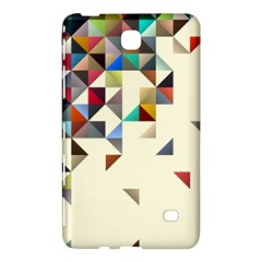 Retro Pattern Of Geometric Shapes Samsung Galaxy Tab 4 (7 ) Hardshell Case